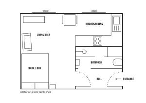 Royal Mile Studio, Apartmány  Edinburg - big - 18