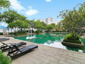 Home-Suites in Straits Quay, Penang, Апартаменты  Танджунг-Бунга - big - 67