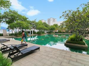 Home-Suites in Straits Quay, Penang, Апартаменты  Танджунг-Бунга - big - 66