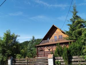 Dom pod Szczeblem, Nyaralók  Lubień - big - 5