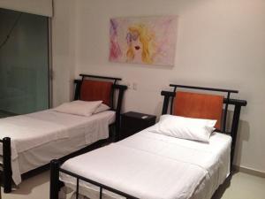 Morros Vitri Suites Frente al Mar, Apartmány  Cartagena de Indias - big - 67
