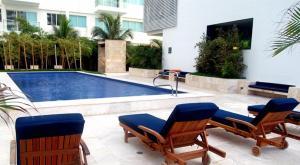 Morros Vitri Suites Frente al Mar, Apartmány  Cartagena de Indias - big - 73