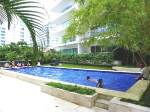 Morros Vitri Suites Frente al Mar, Apartmány  Cartagena de Indias - big - 72