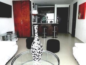 Morros Vitri Suites Frente al Mar, Apartmány  Cartagena de Indias - big - 10