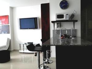 Morros Vitri Suites Frente al Mar, Apartmány  Cartagena de Indias - big - 4
