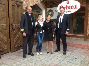 Orbita Boutique Hotel, Hotels  Shymkent - big - 77