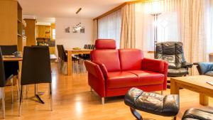 Haus Alpenglück, Apartmanok  Saas-Fee - big - 21