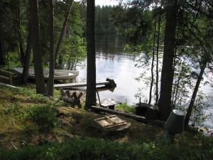 Ollilan Lomamajat, Holiday homes  Kuusamo - big - 8