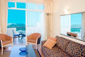 Suite mit 1 Schlafzimmer mit Meerblick