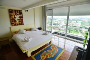 Penthouse Galare Thong Tower, Apartmány  Chiang Mai - big - 17