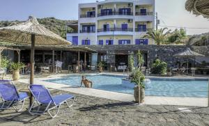 Blue Sea, Hotels  Mochlos - big - 42