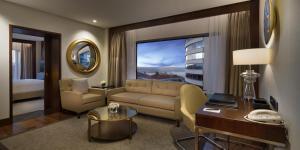 Apartament typu Park Suite z wstępem do salonu Executive Lounge