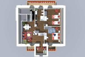 Residence Cavanis Wellness & Spa, Aparthotely  Sappada - big - 3