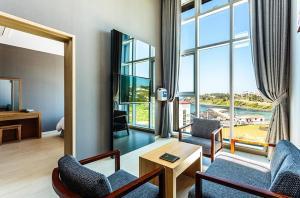 Rich Hotel, Отели  Чеджу - big - 7