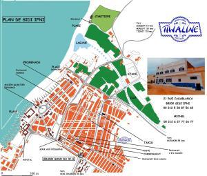 Maison D'hôtes Tiwaline, Penzióny  Sidi Ifni - big - 26