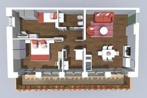 Residence Cavanis Wellness & Spa, Aparthotely  Sappada - big - 9