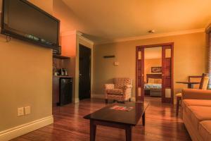 Deluxe Suite mit 1 Schlafzimmer und Kamin