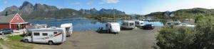 Hammerstad Camping, Комплексы для отдыха с коттеджами/бунгало  Сволваер - big - 67