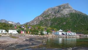 Hammerstad Camping, Комплексы для отдыха с коттеджами/бунгало  Сволваер - big - 69