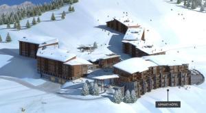 Appart'Hotel Odalys Prestige Eden, Apartmanhotelek  Arc 1800 - big - 42