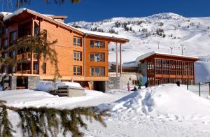 Appart'Hotel Odalys Prestige Eden, Apartmanhotelek  Arc 1800 - big - 13