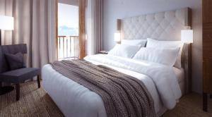 Appart'Hotel Odalys Prestige Eden, Apartmanhotelek  Arc 1800 - big - 1