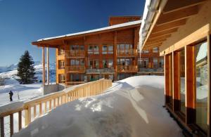 Appart'Hotel Odalys Prestige Eden, Apartmanhotelek  Arc 1800 - big - 39