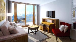Appart'Hotel Odalys Prestige Eden, Apartmanhotelek  Arc 1800 - big - 2