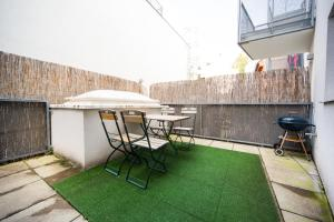 New central apartment with terrace and garage, Apartmány  Vídeň - big - 6