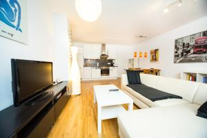 New central apartment with terrace and garage, Апартаменты  Вена - big - 12