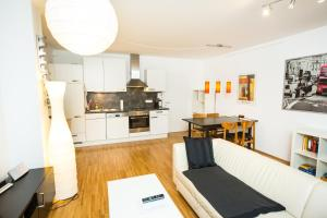 New central apartment with terrace and garage, Apartmány  Vídeň - big - 18