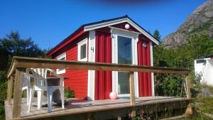 Hammerstad Camping, Комплексы для отдыха с коттеджами/бунгало  Сволваер - big - 50