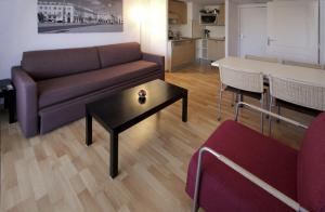 市景一卧室公寓(4名成人)