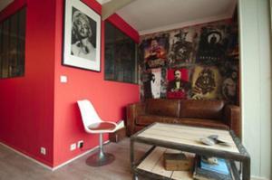 Vintage apartment, Apartmanok  Cannes - big - 46