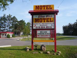 The Silver Birch Motel, Мотели  Goderich - big - 30