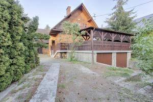 Dom pod Szczeblem, Nyaralók  Lubień - big - 3