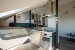 Apartment Murtensee und Alpen, Ferienwohnungen  Bellerive - big - 14