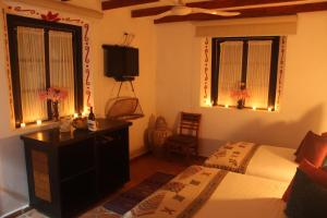 Hotel Boutique La Casona de Don Porfirio, Hotely  Jonotla - big - 35