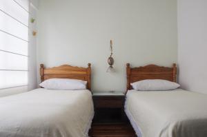 Chambre Lits Jumeaux avec Salle de Bains Privative Séparée