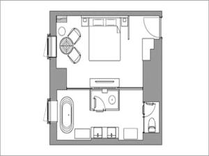 Luxury Designer Double Room - Non-Smoking (Mature with Late Check-in 19:00)