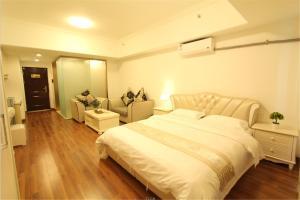 Foshan Keruisi Apartment (Nanhai Wanda SOHO Branch), Апартаменты  Фошань - big - 16