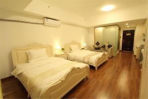 Foshan Keruisi Apartment (Nanhai Wanda SOHO Branch), Апартаменты  Фошань - big - 14