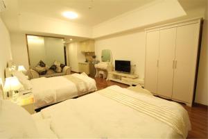 Foshan Keruisi Apartment (Nanhai Wanda SOHO Branch), Апартаменты  Фошань - big - 13