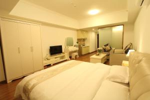 Foshan Keruisi Apartment (Nanhai Wanda SOHO Branch), Апартаменты  Фошань - big - 11
