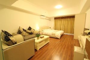 Foshan Keruisi Apartment (Nanhai Wanda SOHO Branch), Апартаменты  Фошань - big - 10