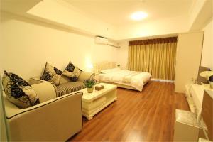 Foshan Keruisi Apartment (Nanhai Wanda SOHO Branch), Апартаменты  Фошань - big - 9