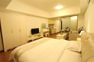Foshan Keruisi Apartment (Nanhai Wanda SOHO Branch), Апартаменты  Фошань - big - 7