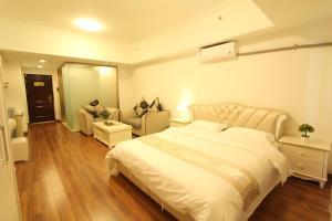 Foshan Keruisi Apartment (Nanhai Wanda SOHO Branch), Апартаменты  Фошань - big - 8