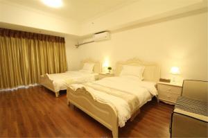 Foshan Keruisi Apartment (Nanhai Wanda SOHO Branch), Апартаменты  Фошань - big - 2
