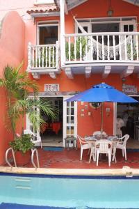 Casa del Campo Santo, Dovolenkové domy  Cartagena de Indias - big - 28